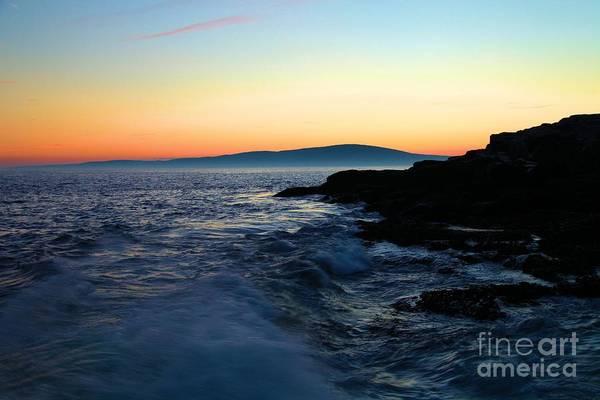 Photograph - Sunset At Schoodic by Adam Jewell