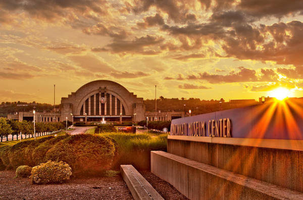 Photograph - Sunset At The Terminal by Keith Allen