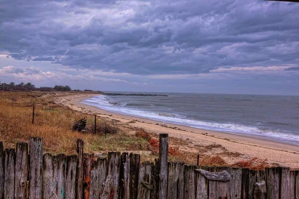Photograph - Sunset Beach Clouds by Tom Singleton