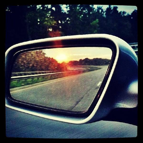 Audi Photograph - #sunset #car #cars by Cameron Adams