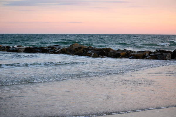 Photograph - Sunset Colors The Atlantic Sky by Mary McAvoy