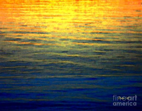 Digital Art - Sunset by Dale   Ford