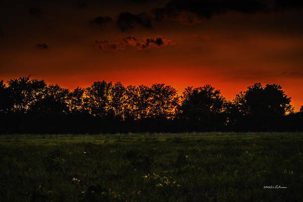 Photograph - Sunset Fire by Edward Peterson