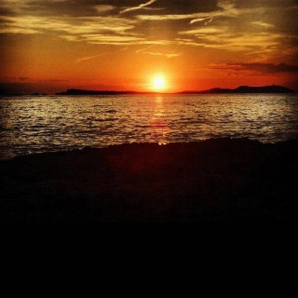 Wall Art - Photograph - Sunset From Ibiza Last Time I Was There by Nick Bratt