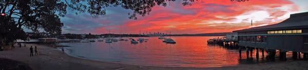 Photograph - Sunset In Sydney by Jeremy Holton