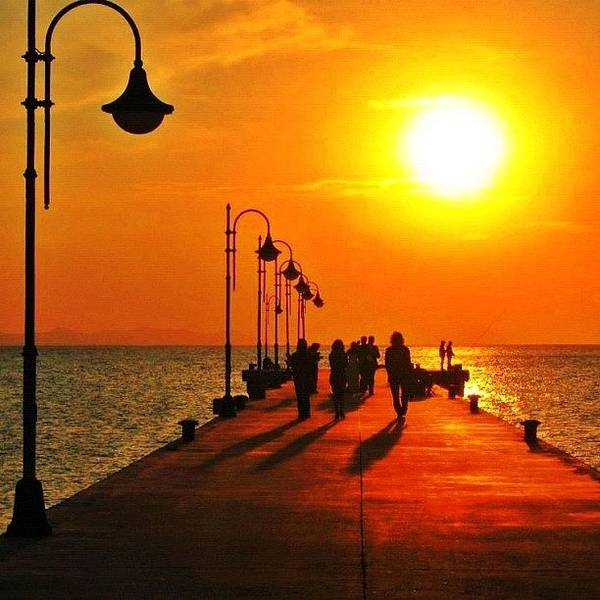 Wall Art - Photograph - Sunset In Torregaveta Napoli Italia by Gianluca Sommella