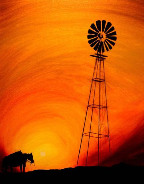 Painting - Sunset by J Vincent Scarpace