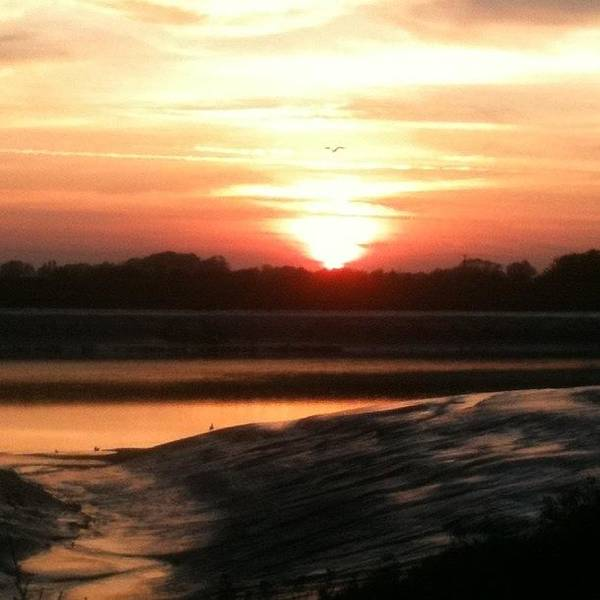 Norfolk Photograph - Sunset, King's Lynn Docks - No Filter by Just Berns