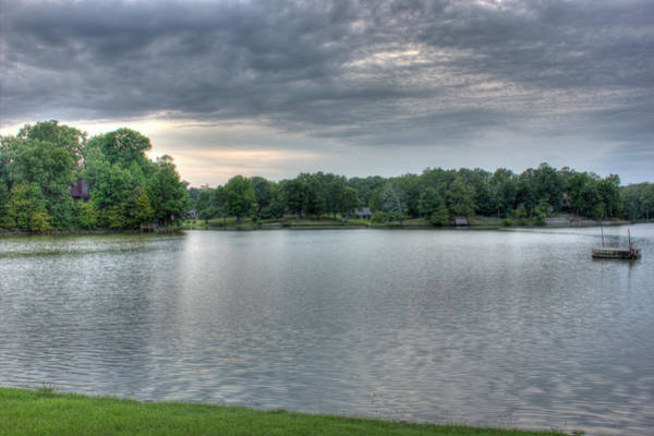 Photograph - Sunset Lake by Barry Jones