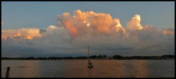 Photograph - Sunset Mooring by Tim Nyberg