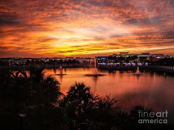 Photograph - Sunset Oct 2011 Palm Beach Gardens Fl by Ginette Callaway