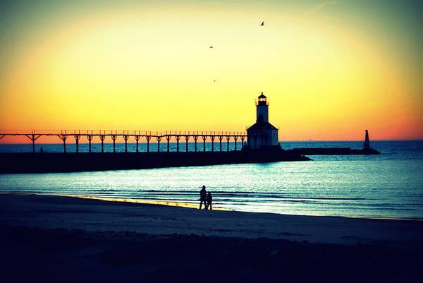 Photograph - Sunset On The Beach by Lora Mercado
