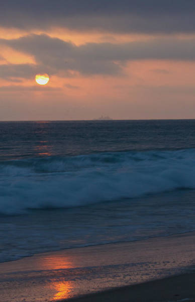 Photograph - Sunset On The Pacific Ocean by Dorothy Cunningham