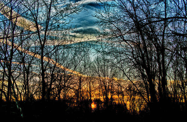 Mesosphere Photograph - Sunset On The Saucon Trail by D L McDowell-Hiss