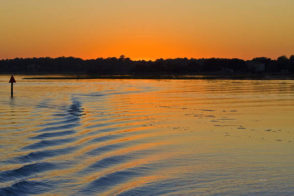 Sound Barrier Wall Art - Photograph - Sunset On The Sound by Betsy Knapp