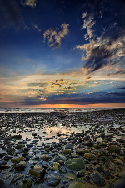 Cape Cod Sunset Photograph - Sunset Over Bound Brook Island by Rick Berk
