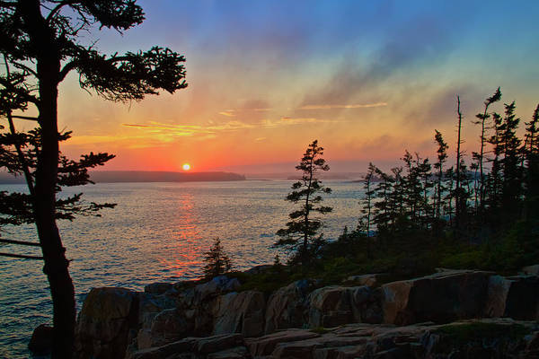 Photograph - Sunset Over Frenchman's Bay by Dale J Martin