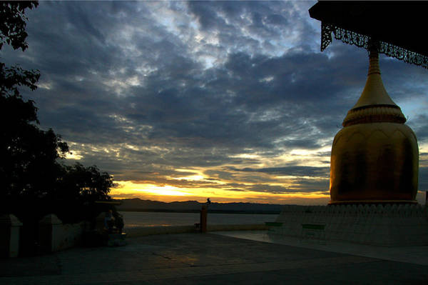 Photograph - Sunset Over The Irrawaddy River by RicardMN Photography
