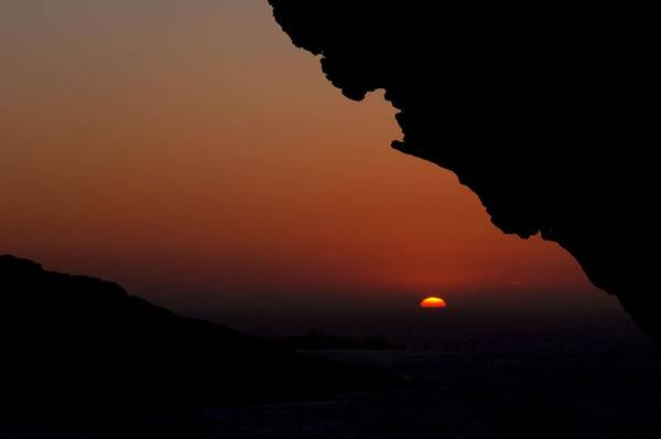 Ramla Bay Wall Art - Photograph - Sunset Over The Small Island by Focus  Fotos