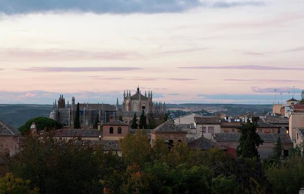 Photograph - Sunset Over Toledo by Lorraine Devon Wilke