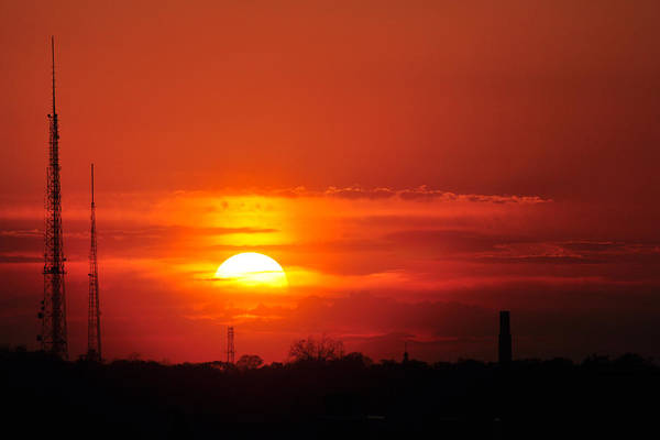 Photograph - Sunset Over Washington Dc by Victoria Porter