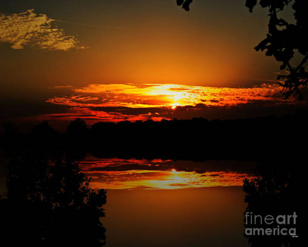 Photograph - Sunset Reflections by Ms Judi