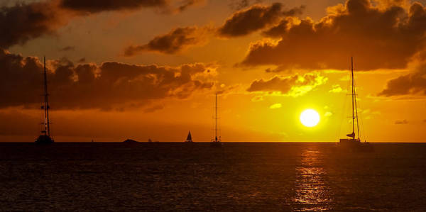 Photograph - Sunset Sailing by Daniel Marcion