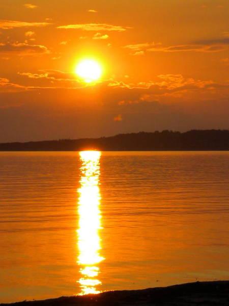 Photograph - sunset Samsoe island Denmark by Colette V Hera  Guggenheim