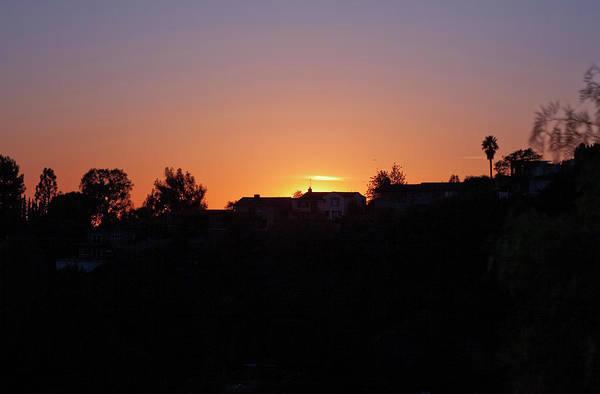Photograph - Sunset Silhouette by Lorraine Devon Wilke