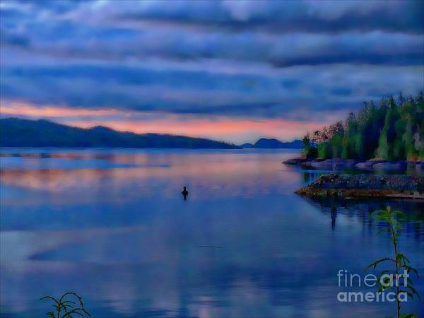 Vancouver Mixed Media - Sunset Softness by Gail Bridger