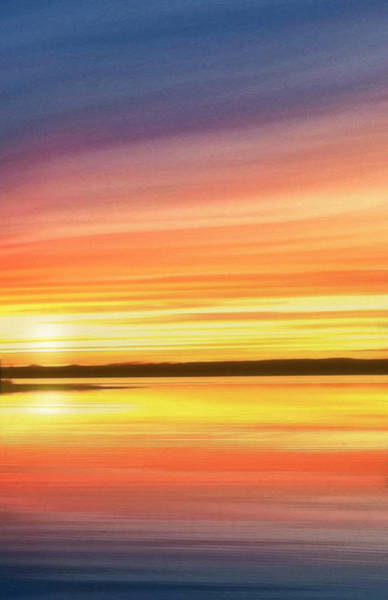 Photograph - Sunset Stratas by Rod Seel