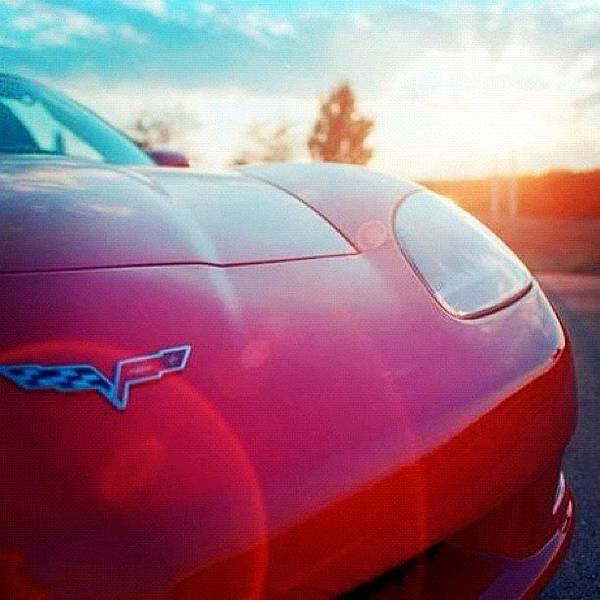 Chevrolet Corvette Photograph - Sunset Vette by Patrick Futato