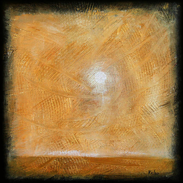 Endless Painting - Sunshine by Bonnie Kelso