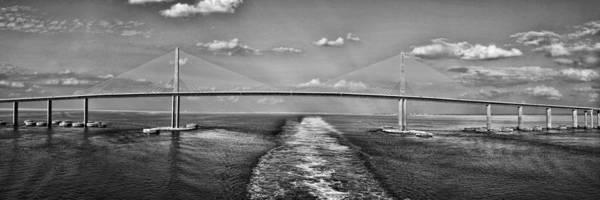 Sunshine Skyway Bridge Art Print