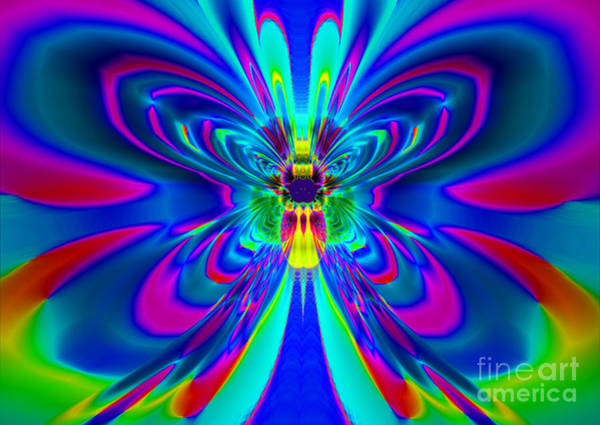 Firefly Painting - Super Firefly by Heinz G Mielke