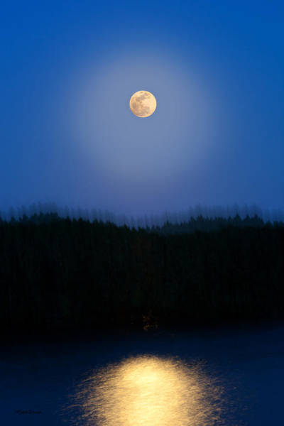 Photograph - Super Moon Vibe by Michelle Constantine