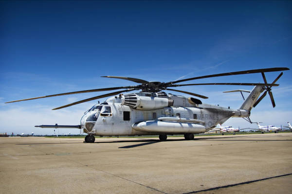 Rotor Photograph - Super Stallion by Ricky Barnard