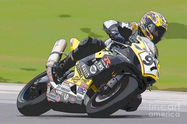 Photograph - Superbike Racer II by Clarence Holmes