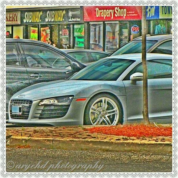 Audi Photograph - #supercar #supercars #white #audir8 by Aryeh D