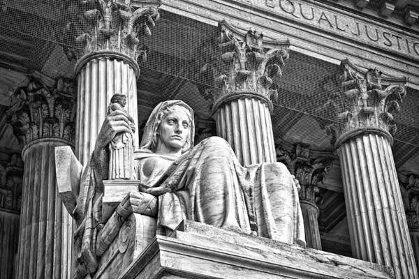Photograph - Supreme Court Building 15 by Val Black Russian Tourchin