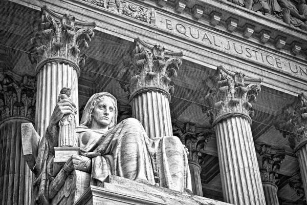 Photograph - Supreme Court Building 17 by Val Black Russian Tourchin