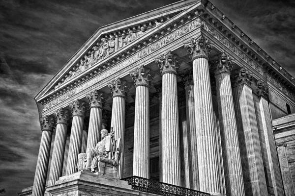 Photograph - Supreme Court Building 5 by Val Black Russian Tourchin