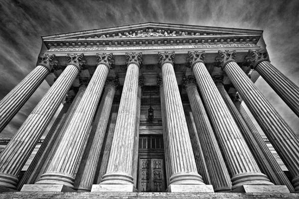 Photograph - Supreme Court Building 8 by Val Black Russian Tourchin