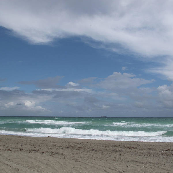 Photograph - Surf Sand And Sky by David Coblitz