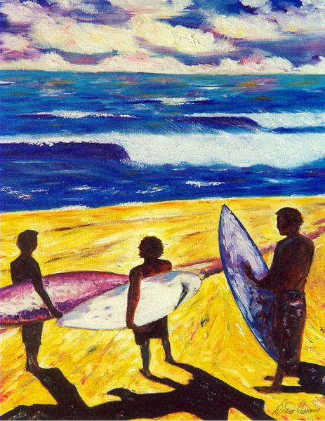 Surf's Up Art Print