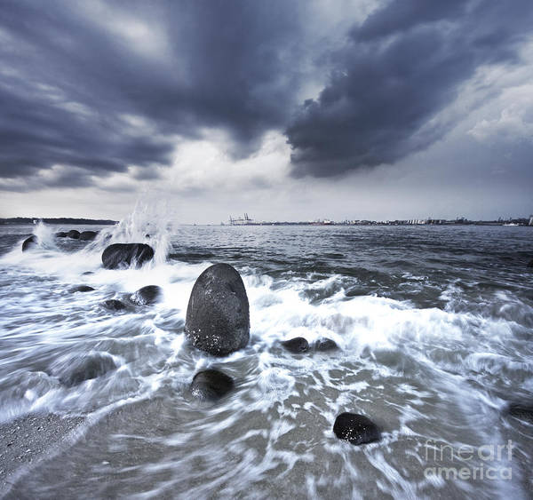 Darkside Photograph - Survivor by Tomatoskin Kam