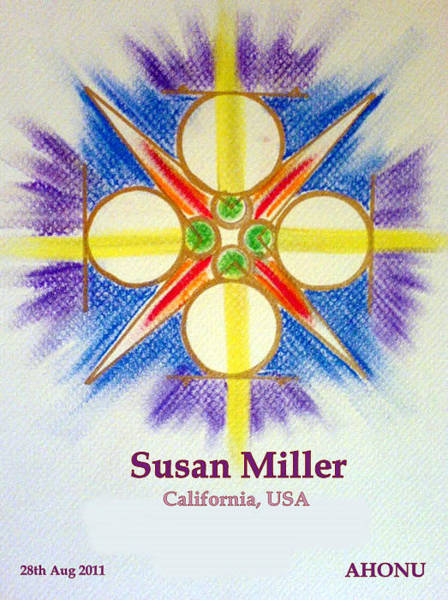 Painting - Susan Miller by Ahonu