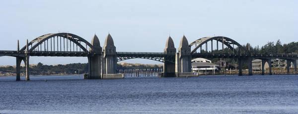 Suslaw Bridge Panorama Art Print by Mary Gaines