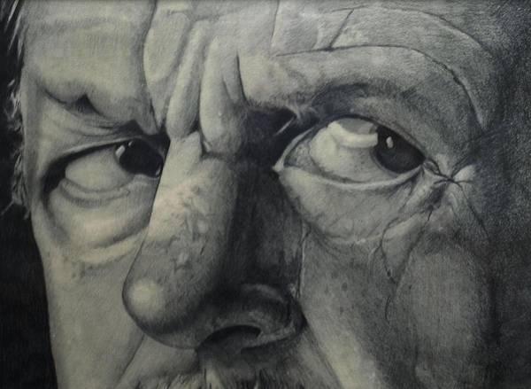 Drawing - Suspicion by Tim Ernst