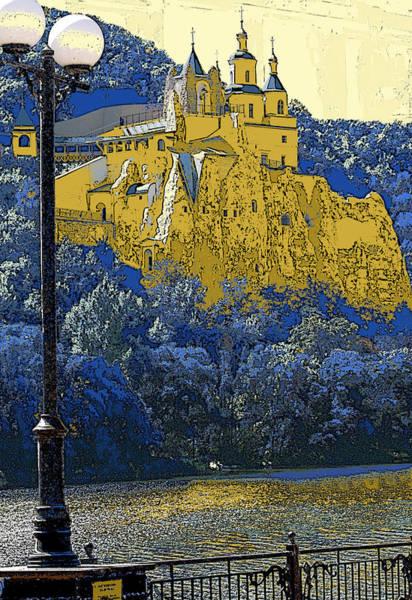 Fence Post Digital Art - Svyatogorsk Series 1 by Philip Tolok
